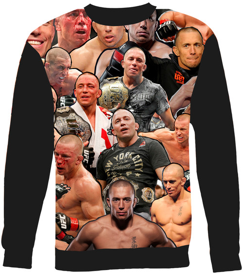 George St-Pierre sweatshirt