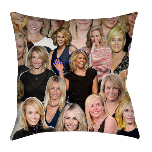 Chelsea Handler pillowcase
