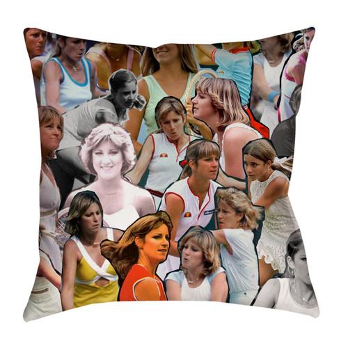 Chris Evert pillowcase