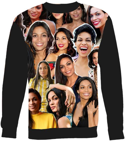 Rosario Dawson Collage Sweater Sweatshirt