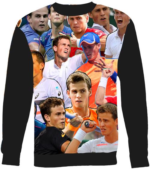 Vasek Pospisil Collage Sweater Sweatshirt