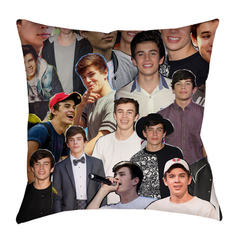 Hayes Grier pillowcase