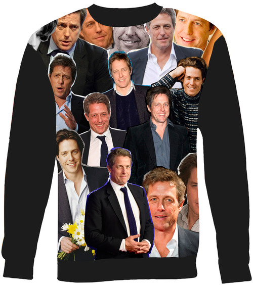 Hugh Grant Collage Sweater Sweatshirt