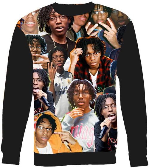Lil Tecca Collage Sweater Sweatshirt