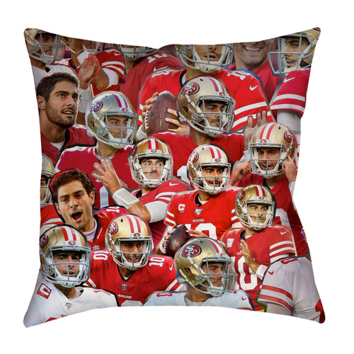 Jimmy Garoppolo pillowcase