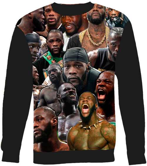 Deontay Wilder sweatshirt
