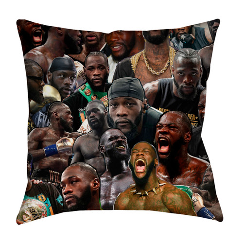 Deontay Wilder pillowcase