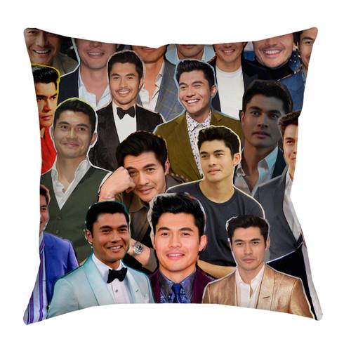 Henry Golding pillowcase