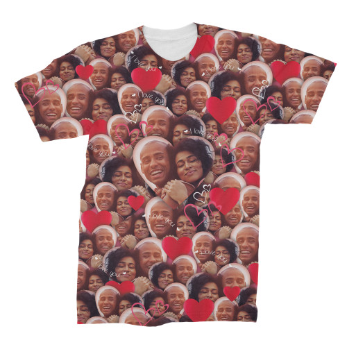 Custom Valentine's Faces Photo T-Shirt
