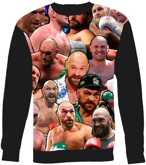 Tyson Fury Collage Sweater Sweatshirt