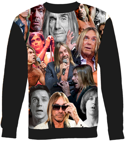 Iggy Pop sweatshirt