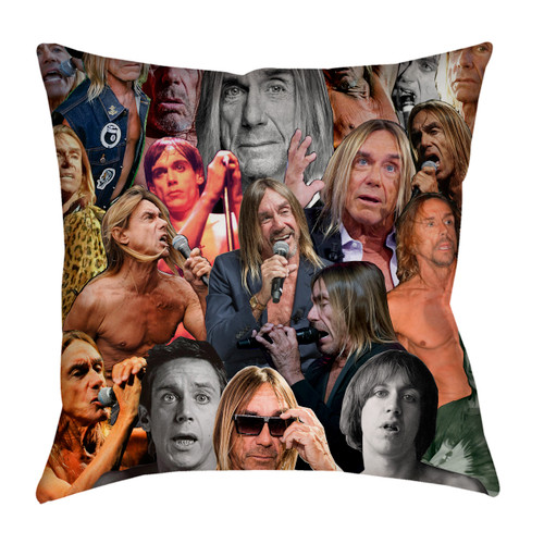 Iggy Pop pillowcase