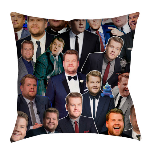 James Corden pillowcase