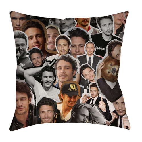 James Franco pillowcase