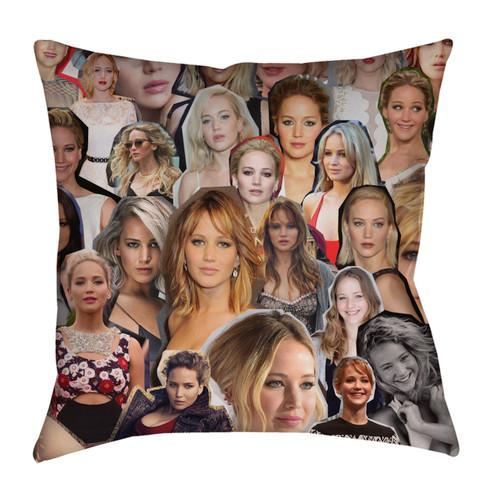 Jennifer Lawrence pillowcase