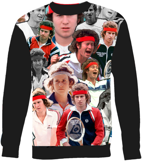 John McEnroe sweatshirt