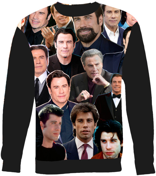 John Travolta sweatshirt