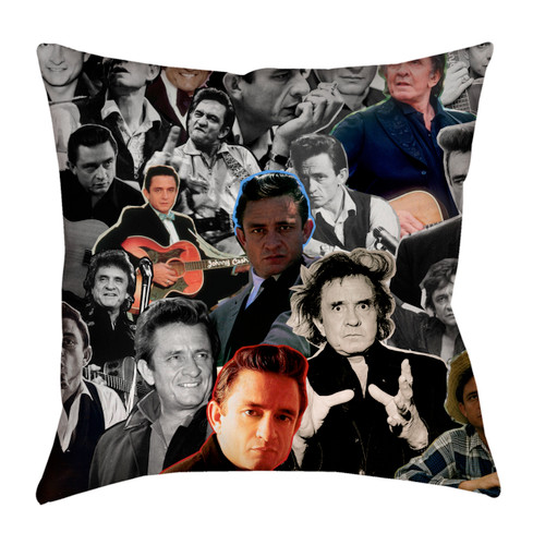Johnny Cash pillowcase