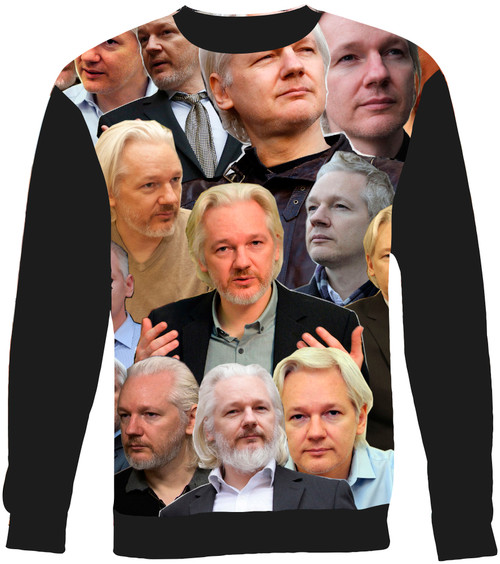 Julian Assange sweatshirt