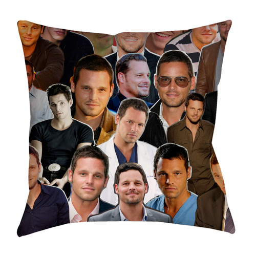 Justin Chambers pillowcase