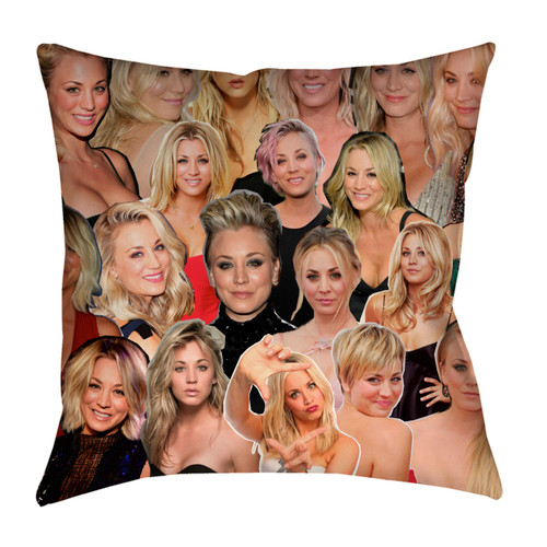 Kaley Cuoco pillowcase