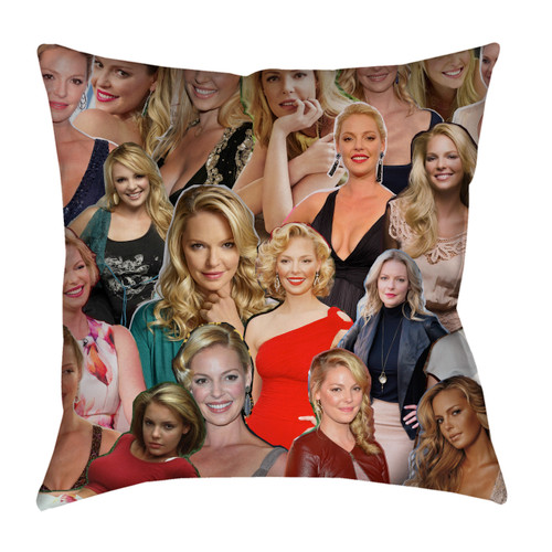 Katherine Heigl pillowcase