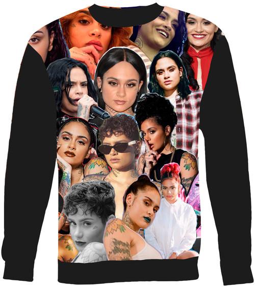 Kehlani Collage Sweater Sweatshirt