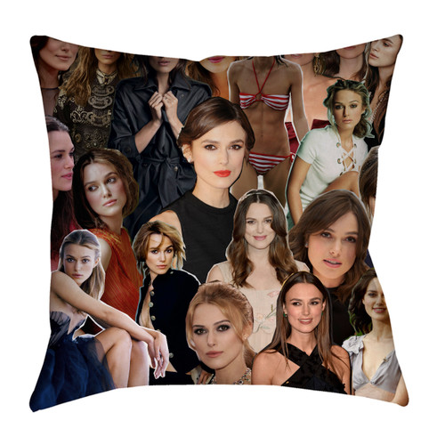 Keira Knightley pillowcase