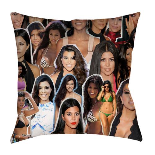 Kourtney Kardashian pillowcase