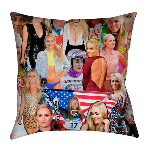 Lindsey Vonn pillowcase
