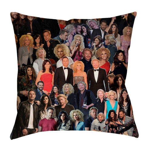Little Big Town pillowcase