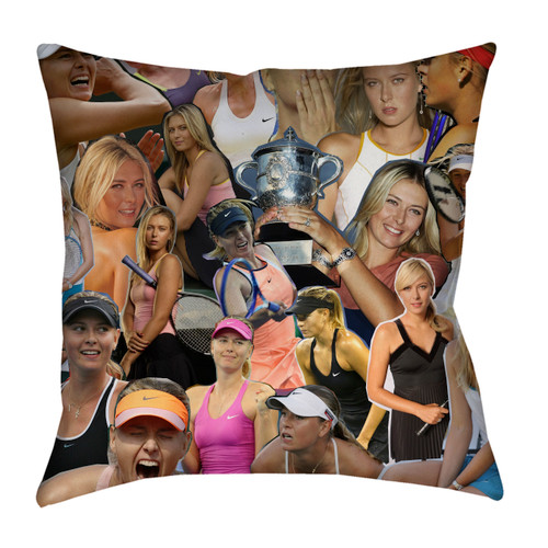 Maria Sharapova pillowcase