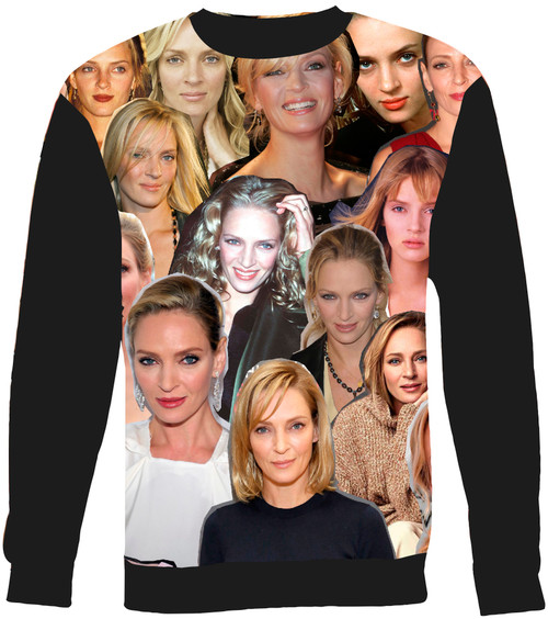 Uma Thurman sweatshirt