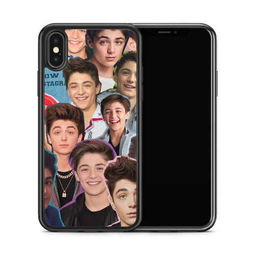 N//Y I Think My Soulmate is Asher Angel Funny Actor Wear T-shirt nera