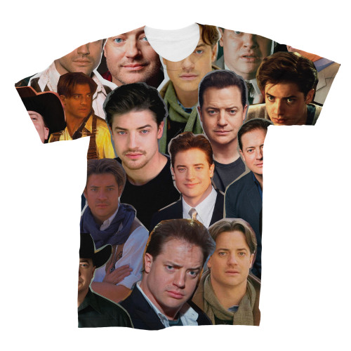 Brendan Fraser tshirt