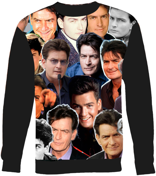 Charlie Sheen sweatshirt