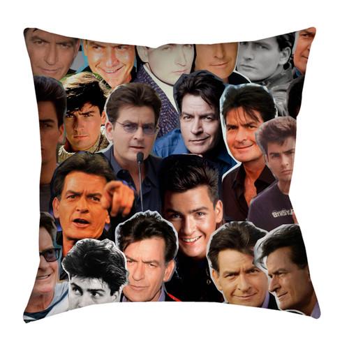Charlie Sheen pillowcase