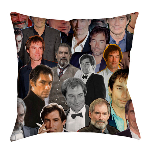 Timothy Dalton pillowcase