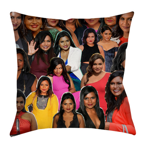 Mindy Kaling pillowcase