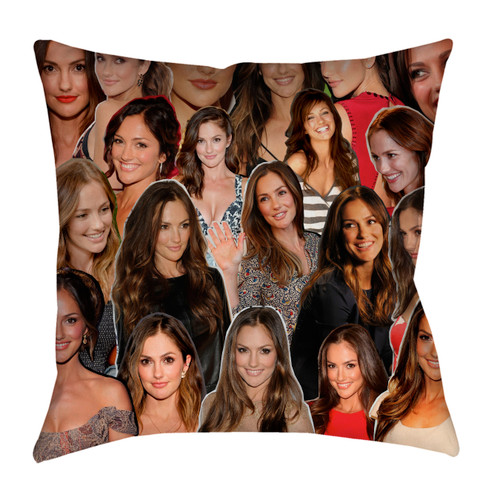 Minka Kelly pillowcase