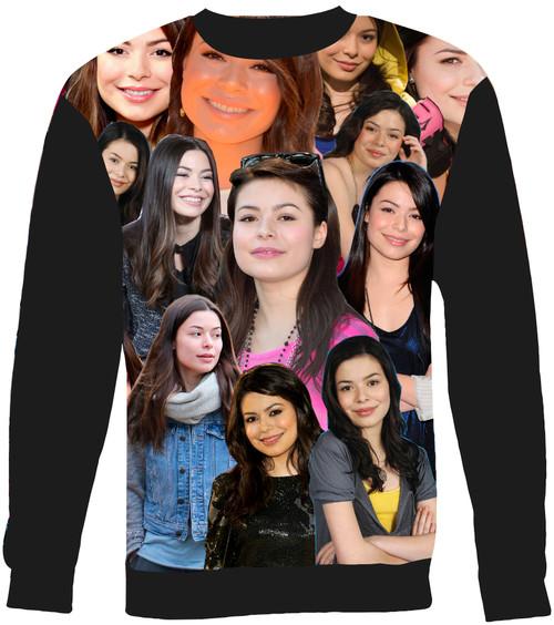 Miranda Cosgrove sweatshirt