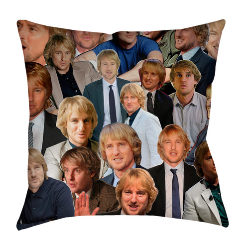 Owen Wilson pillowcase