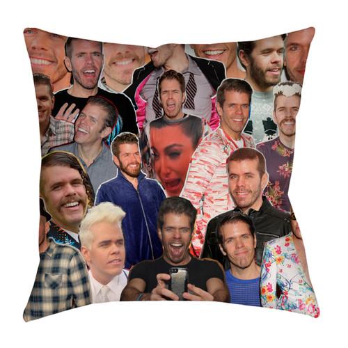 Perez Hilton pillowcase