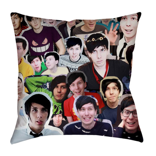 Phil Lester pillowcase