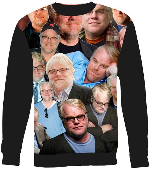 Philip Seymour Hoffman Collage Sweater Sweatshirt