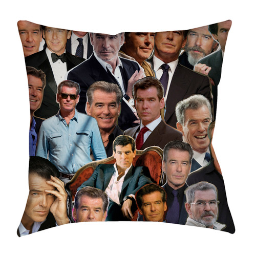 Pierce Brosnan pillowcase