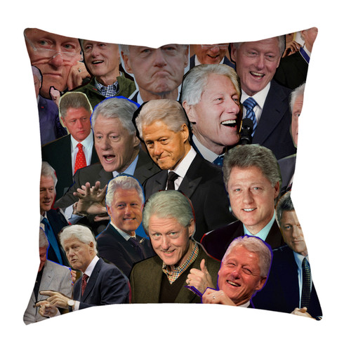 President Bill Clinton pillowcase