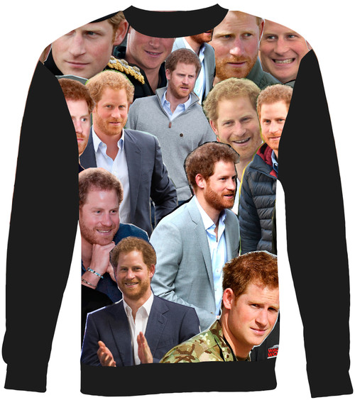 Prince Harry Collage Sweater Sweatshirt
