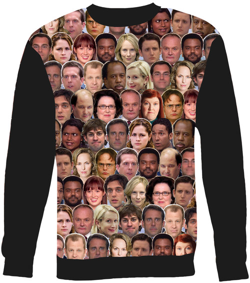 The Office Collage Sweater Sweatshirt