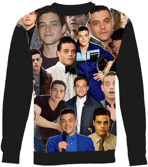 Rami Malek sweatshirt